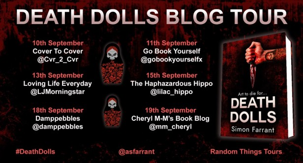Death Dolls Blog Tour poster